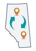 Movement in Albeta (Map/Icon)